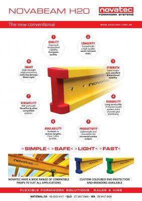 NovaBeam H20 Product Sheet