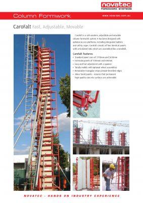 Novatec Formwork Systems Brochure CaroFalt.12