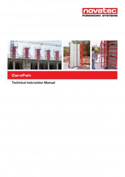carofalt-column-formwork-technical-instruction-manual